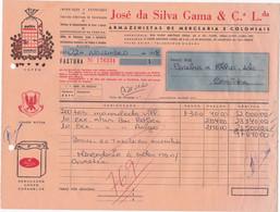 PORTUGAL - COMMERCIAL INVOICE - CAFÉ - COFFEE - WINES - CAFÉS GAMA ADVERTISING  - PORTO - Portugal
