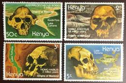 Kenya 1982 Origins Of Mankind MNH - Kenya (1963-...)