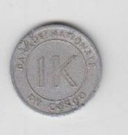 BANQUE NATIONALE DU CONGO -1 K ( UN LIKUTA ) 1967 - Congo (Democratic Republic 1964-70)