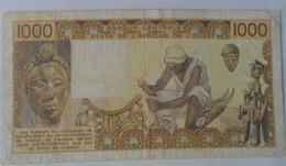 ETATS AFRIQUE DE L'OUEST 1000 FRANCS L005 - États D'Afrique De L'Ouest