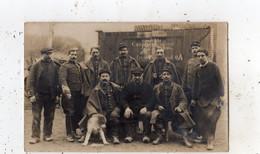 VILLENEUVE-LE-ROI CAMPAGNE 1914 1915 CARTE PHOTO - Villeneuve Le Roi