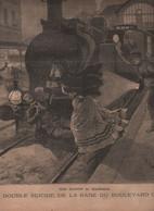 LE PETIT PARISIEN 22 04 1894 - SUICIDES GARE BOULEVARD ORNANO - AMBROISE THOMAS - VELOCIPEDES CLEMENT - EMMA CALVE ... - 1850 - 1899