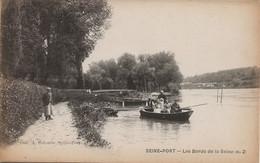 Seine-Port (77) : Les Bords De La Seine (n°2), Collection A. Lacombe. - Other Municipalities