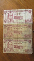 LOT De 3 Anciens Billets. 10 DIRHAMS.  /2028 - Morocco