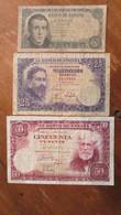 LOT De 3 Anciens Billets. Espagne.  /2031 - Other