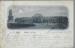 Mons : La Gare, 1898 !                VENTE DE MA COLLECTION PRIX SYMPAS - REGARDEZ MES OFFRES - Mons