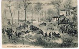 Bataille Villiers-Champigny 30 Nov 1870 RARE CPA - Villiers Sur Marne
