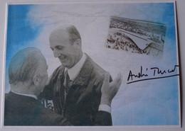 CP - André TURCAT - 1er Vol Du Concorde - Signé - Autographe Authentique - 1946-....: Era Moderna