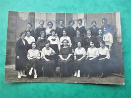 Cpa Photo MOULINS - Ecole Normale D' INSTUTRICES Promotion 116 - 119 - Groupe D' éleves - Moulins