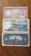 LOT De 3 Anciens Billets. SAUDI ARABIAN. INDONESIE. YOUGOSLAVIE.  /2033 - Other