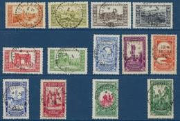 """Algerie YT 87 à 99 """" Centenaire De L'Algérie Française """" 1930 Oblitéré - Used Stamps"""