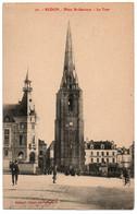 CPA 35 - REDON (Ille Et Vilaine) - 20. Place St-Sauveur - La Tour - Redon