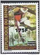 2007 BENIN Michel 1405** Singe Surchargé 175-400 - Benin – Dahomey (1960-...)