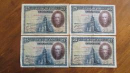 LOT De 4 Anciens Billets. Espagne. /2041 - Other