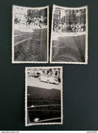 TOUR DE FRANCE A MONS 29/06/1947 3 PHOTOS 9CM/6CM - Mons