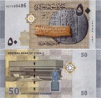 SYRIA       50 S. Pounds       P-112       2009 / AH1430         UNC - Siria