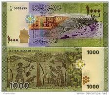 SYRIA       1000 S. Pounds       P-116       2013 / AH1435         UNC - Siria