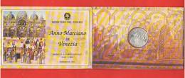 Italia Repubblica 1000 Lire 1994 San Marco Venezia 1000° Church Building  Silver Coin Mint Roma - Commemorative