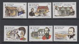 Falkland Islands 1994 Founding Of Stanley 6v ** Mnh (51401) - Islas Malvinas
