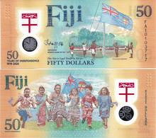FIJI       50 Dollars       Comm.       P-New       2020       UNC - Fiji