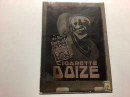 Liège Manufacture De Tabacs Cigares Cigarettes Louis  Doize  Rare Négatif Sur Verre Publicité - Non Classés