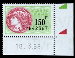 Timbre Fiscal (fiscaux) - Série Fiscale Unifiée (SFU) Neuf N° 509 - Coin Daté Du 18/03/1998 - Fiscale Zegels