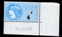 Timbre Fiscal (fiscaux) - Série Fiscale Unifiée (SFU) Neuf N° 485 - Coin Daté Du 08/10/1996 - Fiscale Zegels