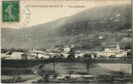 CPA St.Maurice D'Hostun Vue Generale FRANCE (1101626) - Otros Municipios