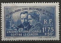 FRANCE   N° 402 *  (1938) - Nuevos