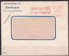 EMA Paris , Fromagerie Bel , La Vache Qui Rit (ref L519) - Affrancature Meccaniche Rosse (EMA)