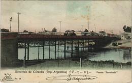 CPA AK Recuerdo De Cordoba Puente Sarmiento ARGENTINA (1057959) - Argentina