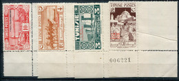 Tunisie         269/272   ** Bord De Feuille - Unused Stamps