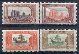 Tunisie        36-39-39A/40 ** - Ungebraucht