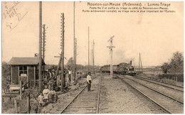 08 NOUVION-sur-MEUSE - Lumes-Triage - Autres Communes