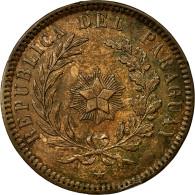 Monnaie, Paraguay, 2 Centesimos, 1870, SUP, Cuivre, KM:3 - Paraguay