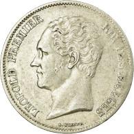 Monnaie, Belgique, Leopold I, 2-1/2 Francs, TTB, Argent - 10. 2 1/2 Franco