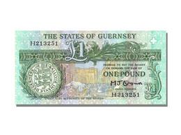 Billet, Guernsey, 1 Pound, NEUF - Guernsey