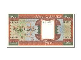 Billet, Mauritanie, 200 Ouguiya, 1974, 1974-11-28, NEUF - Mauritania