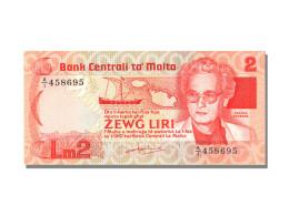 Billet, Malte, 2 Liri, NEUF - Malta