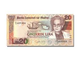 Billet, Malte, 20 Lira, NEUF - Malta