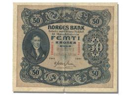 Billet, Norvège, 50 Kroner, 1941, TTB+ - Norway