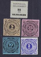 Denmark Local Steamship Parcel Stamps  SKJELSKØR - Autres