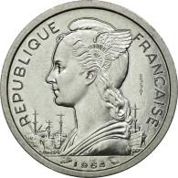 Monnaie, Comoros, 2 Francs, 1964, Paris, FDC, Aluminium, Lecompte:34 - Comoros