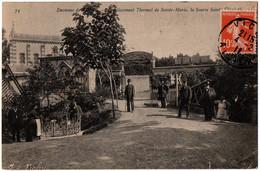 CPA 03 - Env. VICHY (Allier) - 74. Etablissement Thermal De Sainte-Maris, Source - Vichy