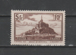 "FRANCE / 1929 / Y&T N°  260 ** : ""Touristique"" (Mont Saint-Michel) Type II X 1 - Ohne Zuordnung"