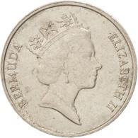 Monnaie, Bermuda, Elizabeth II, 5 Cents, 1987, TTB+, Copper-nickel, KM:45 - Bermuda