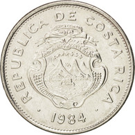 Monnaie, Costa Rica, Colon, 1984, SUP, Stainless Steel, KM:210.2 - Costa Rica
