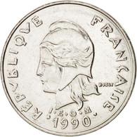 Monnaie, Nouvelle-Calédonie, 20 Francs, 1990, Paris, SPL+, Nickel, KM:12 - New Caledonia