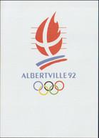 France Postcard 1992 Albertville Olympic Games - Mint (G125-32) - Winter 1992: Albertville