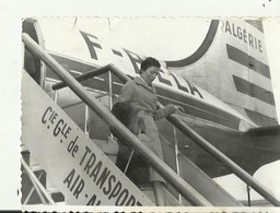 Photo  1955 Air Algerie Toulouse Palma  11.5  X 9 Cm - Luftfahrt